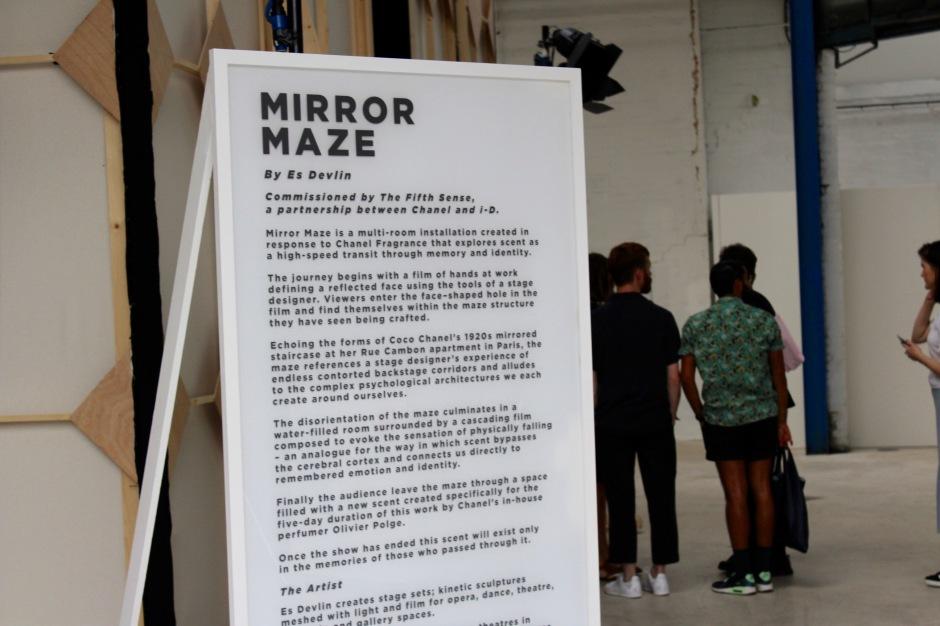 Es Devlin's Mirror Maze