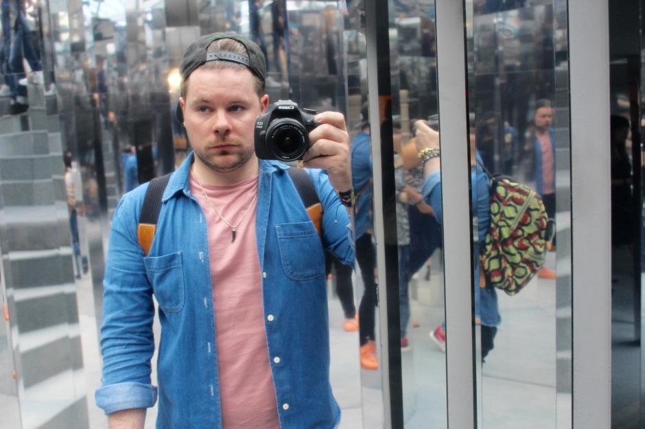 Serious Selfie