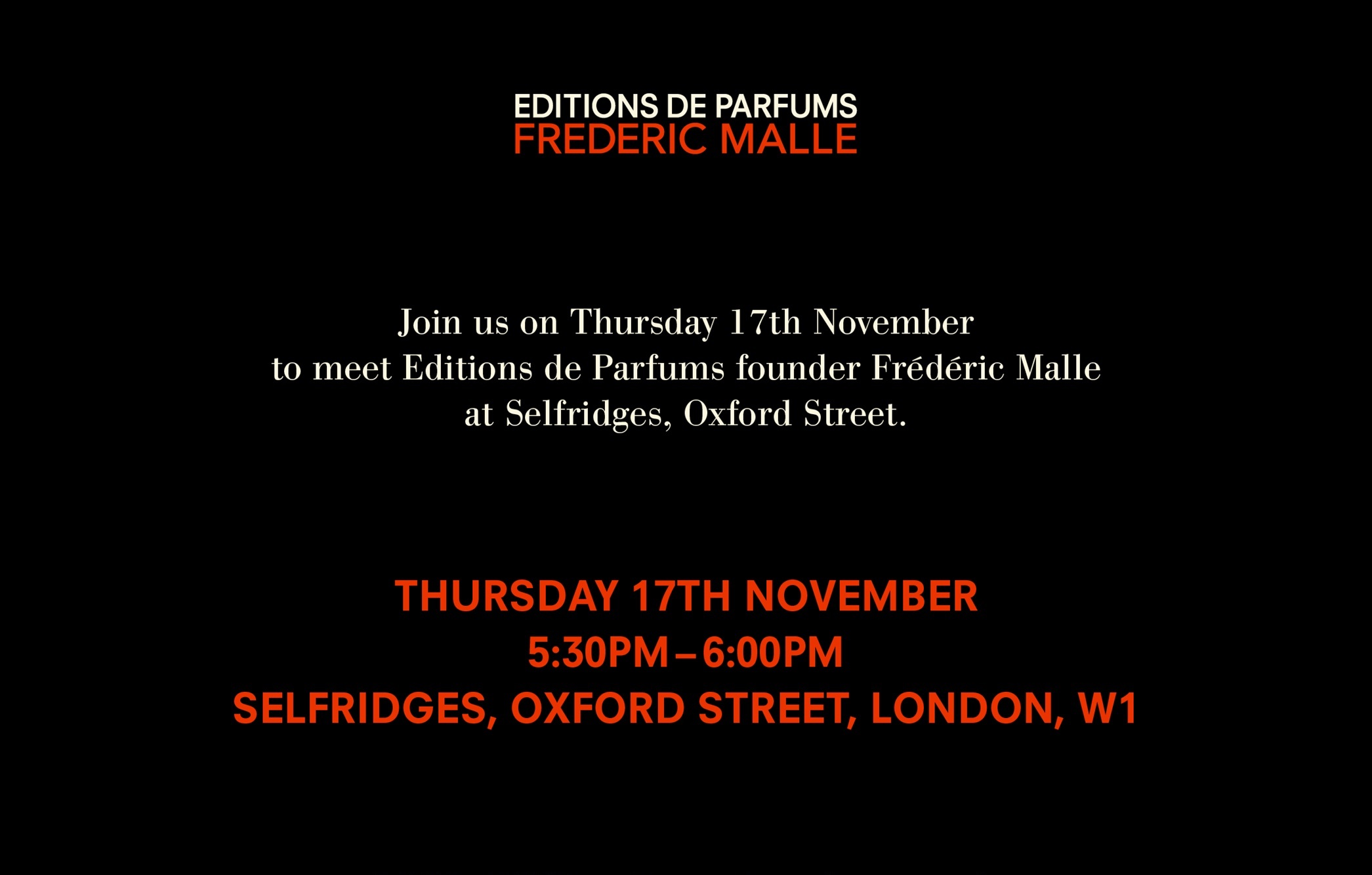Mr Malle is Coming to Town!