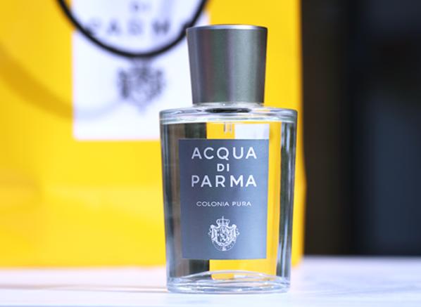 63e9f5bccfcac On Escentual  Colonia Pura by Acqua di Parma – The Candy Perfume Boy